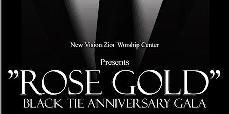 Rose Gold, Black Tie Anniversary Gala tickets