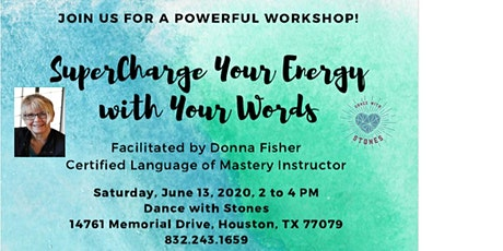 Super Charge Your Energy with Your Words tickets