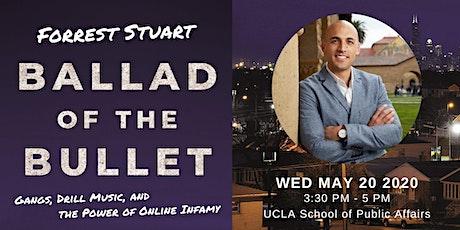 Forrest Stuart - Urban Youth, Social Media, and Violent Crime tickets