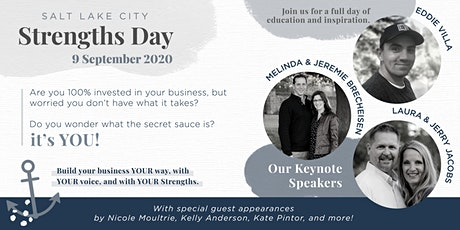 Salt Lake City : Strengths Day 2020 tickets