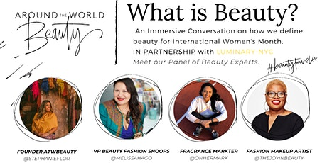 What is Beauty? An Immersive Conversation on how we define Beauty. tickets