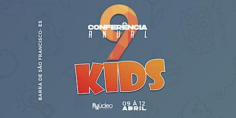Conferência Anual 9 Núcleo de Adoração KIDS ingressos