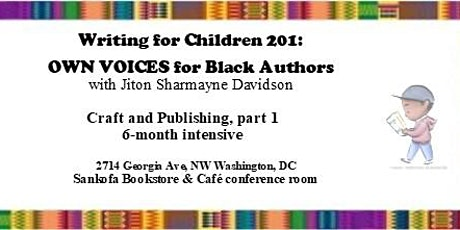 Writing for Children 201:  OWN VOICES for Black Authors tickets