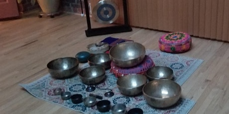Sound Bath with Himalayan Singing Bowls, Gong, Handpan and more. tickets