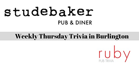 Weekly Thursday Trivia in Burlington - Postponed tickets