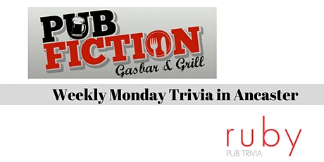 Weekly Monday Trivia in Ancaster - Postponed tickets