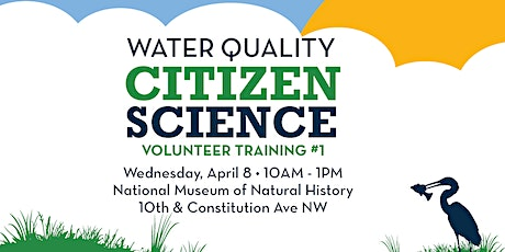 DC Citizen Science: Water Quality Monitoring Training tickets
