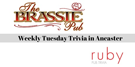 Weekly Tuesday Trivia in Ancaster - Postpone tickets
