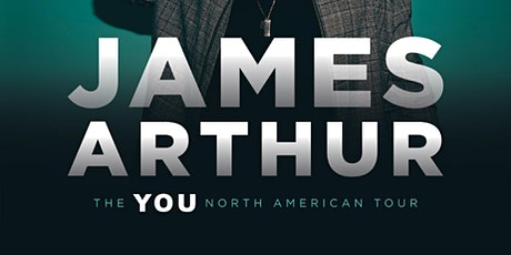 JAMES ARTHUR: THE YOU TOUR tickets