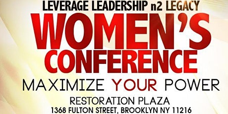 Dr. Cheryl Vernae Presents: Leverage Leadership n2 Legacy Conference tickets