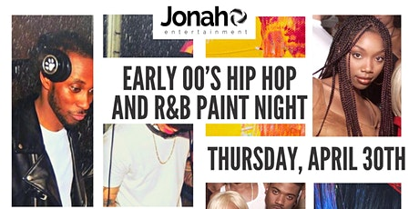 Early 00's Hiphop and R&B Paint Night tickets