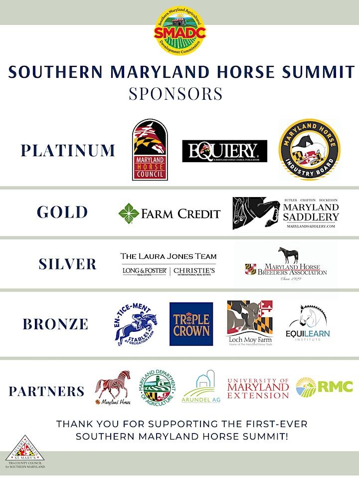 Southern Maryland Horse Summit image