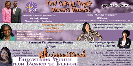 New Calvary Temple's Women's Empowerment Weekend tickets