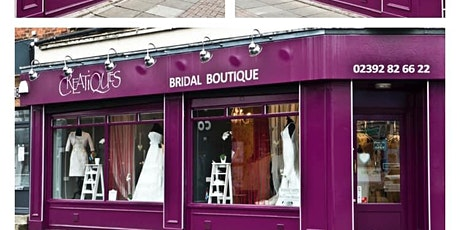 THE RE-LAUNCH OF CREATIQUES BRIDAL BOUTIQUE tickets