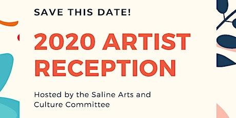 2020 Artist Reception tickets