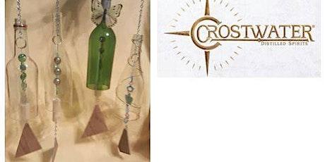 Wine Bottle Wind Chime Workshop hosted by Crostwater tickets