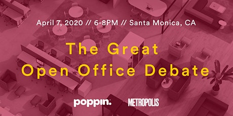 The Great Open Office Debate tickets