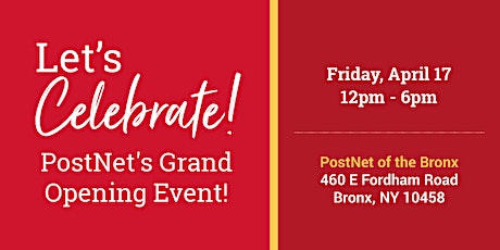 PostNet's Grand Opening Event tickets