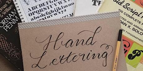 Script Lettering Workshop tickets