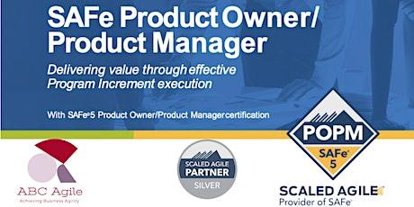 """SAFe Product Owner/Product Manager 5.0"" con certificación como POPM - en Mexico - Aura Villagrana tickets"