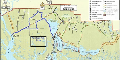 April 18, 2020 Guided Hiking Tour at St Marks National Wildlife Refuge tickets
