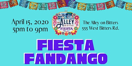 3rd Annual Fiesta Fandango at The Alley tickets