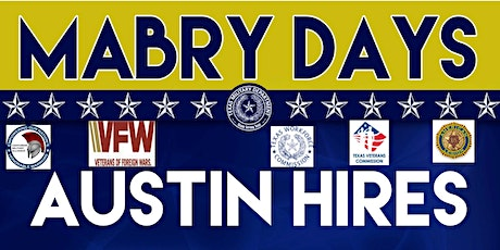 POSTPONED UNTIL FUTURE DATE TBD.  Mabry Days Austin Hires Career Expo tickets