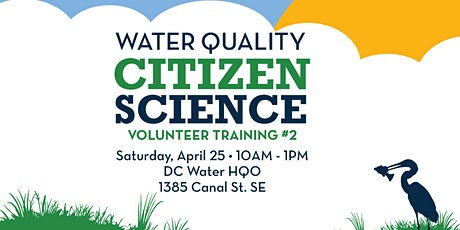 DC Citizen Science: Water Quality Monitoring Training #2 tickets