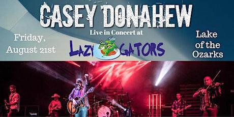 Casey Donahew at Lazy Gators 8/21/2020 tickets