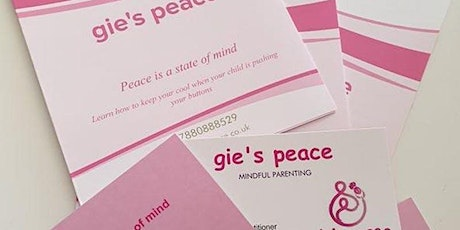 Gie's Peace - A Mindful Approach for Foster Carers tickets