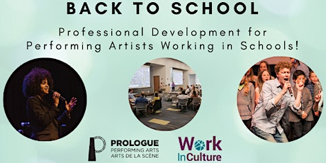 Back to School: PD Series  for Performing Artists Working in Schools tickets