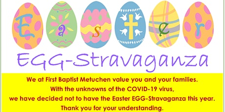 Easter EGG-Stravaganza at First Baptist Church of Metuchen tickets