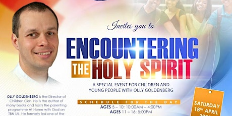 Encountering the Holy Spirit (for young people and kids) tickets