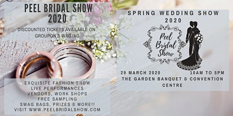 Peel Bridal Show 2020  tickets