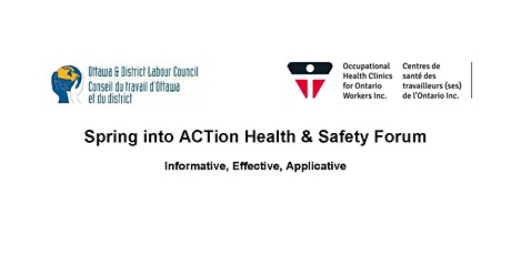 Spring into ACTion Health & Safety Forum tickets