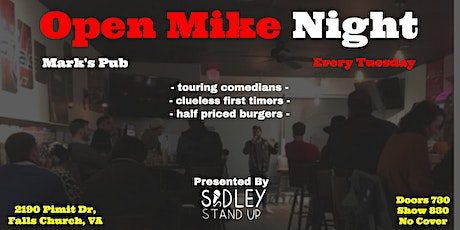 Marks Pub Open Mic Night [Stand-up Comedy] tickets