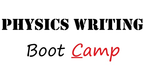 Physics Writers Boot Camp tickets