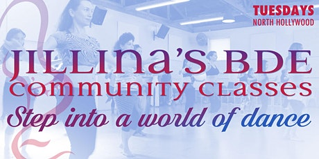 Jillina's BDE Community Classes - June! tickets