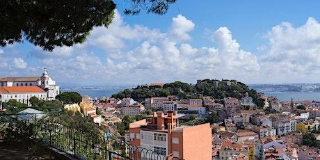 Os Miradouros da Mouraria, Alfama, Castelo e Graça bilhetes