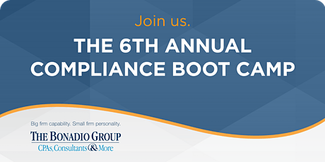 Rochester - 6th Annual Compliance Boot Camp tickets