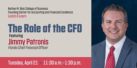 Lunch and Learn with Florida CFO Jimmy Patronis tickets
