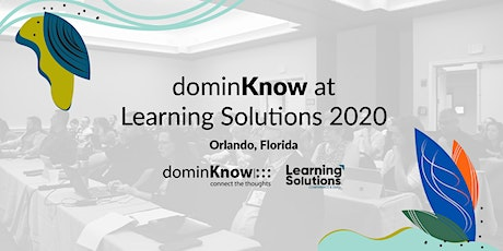dominKnow at Learning Solutions 2020 tickets