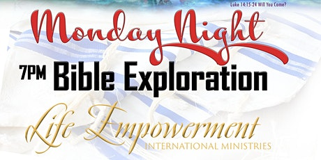 Monday Night Prayer & Bible Exploration tickets