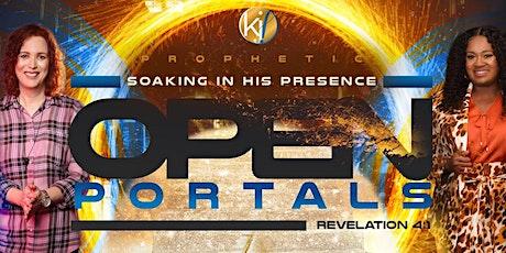 Prophetic Soaking In His Presence tickets
