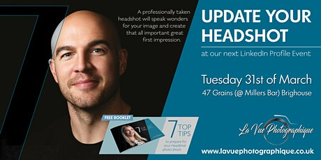 Update Your Headshot - LinkedIn Profile  tickets