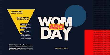Womarq Day boletos