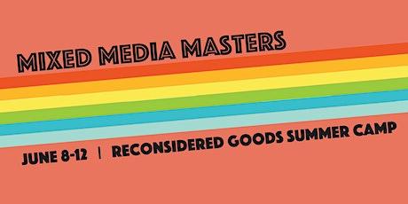 Mixed Media Masters tickets