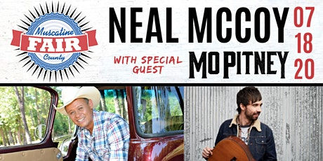 Neal McCoy with  special guest Mo Pitney at Muscatine County Fair tickets