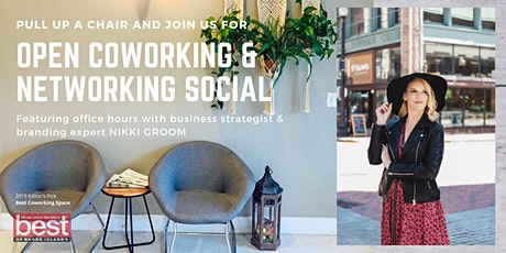 Networking Social & Open Coworking Day tickets
