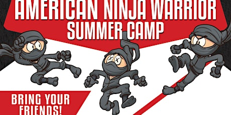 American Ninja Warrior Summer Camp! tickets